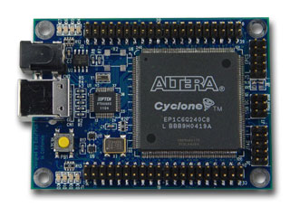 EZ1CUSB- Altera Cyclone FPGA Development Board with USB interface