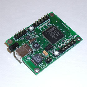 EZ2SUSB - Xilinx Spartan-II FPGA Development Board with USB Interface